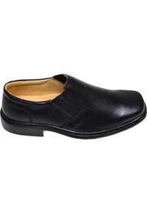 Sapato Masculino Couro Pelica Pelicatto Preto