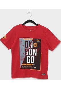 Camiseta Juvenil Onbongo Beach Masculina - Masculino