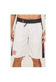 Boardshort Hd Collab Flamengo Oficial Branco