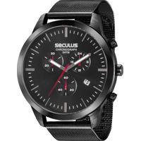 838ae31cfd3 E Clock. Relógio Seculus Masculino Chronograph 20605Gpsvpa1
