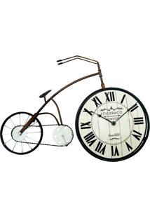 Relógio Bicicleta De Mesa 38X58Cm Kasa Ideia - Tricae