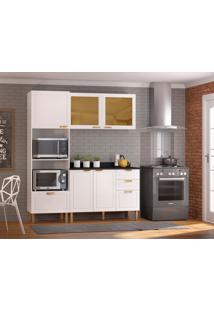 Cozinha Compacta Nevada 5 Pt 4 Gv Branca