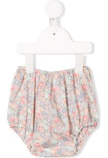 Bonpoint Elasticated Floral Print Shorts - Rosa