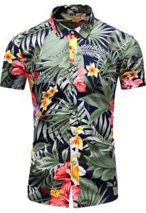 Camisa Floral Masculina - Floral Pp