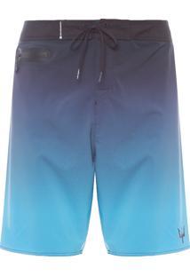 Bermuda Masculina Surf Gradiente Pro - Azul
