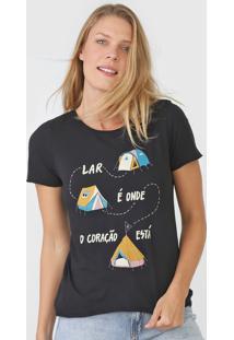 Camiseta Cantão Barraco Preta - Kanui