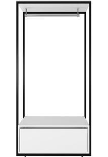 Guarda-Roupa Closet Modulado Manchester I 1 Gv Branco