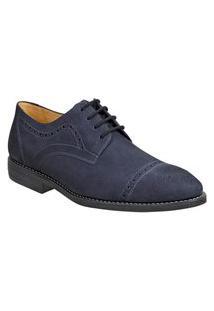Sapato Masculino Esporte Fino Sandro Moscoloni Junco Azul