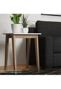 Mesa Lateral Trend- Hanover & Branca- 60X45X45Cmartesano Moveis