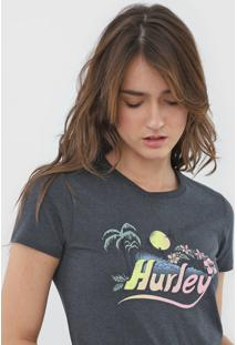 Camiseta Hurley Retro Beach Grafite