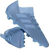 5c8f41e73 Fut Fanatics. Chuteira Adidas Nemeziz Messi 18.3 Fg Campo Azul