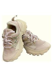 Tênis Sneaker Gait Betta Bege
