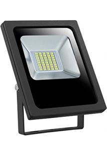 Refletor Led 20W Smd Holofote Bivolt Prova D'Agua Branco Frio