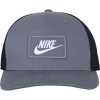 108284af10d6f Boné Aba Curva Nike Sportswear Clc99 - Snapback - Trucker - Adulto -  Cinza Azul