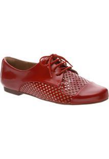 12b6a69a64 Oxford Classico Vermelho feminino