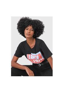 Camiseta Lança Perfume Vintage Tee Preta