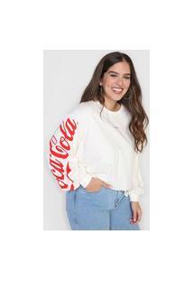 Camiseta Coca-Cola Jeans Enjoy Off-White