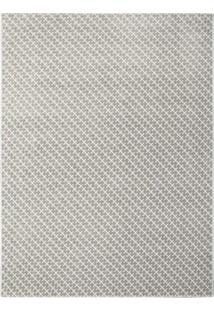 Tapete Classe A Retangular Polipropileno 200X250 Cm Cinza