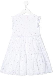 Il Gufo Vestido Com Estampa De Abelha E Amarração - Branco