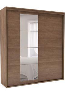 Guarda-Roupa Casal Eleganza Com Espelho 2 Pt 6 Gv Ébano