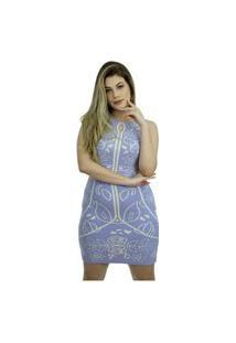 Vestido Tricot Marie Shopping Do Tricô Verão Tubinho Modal