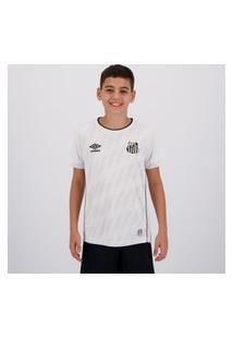 Camisa Umbro Santos I 2021 Juvenil