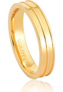 Aliança De Casamento Em Ouro 18K 4,3Mm