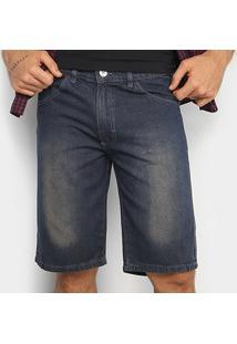 Bermuda Jeans Preston Básica Masculina - Masculino