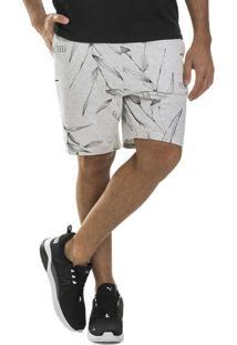 Bermuda Masculina Adulto Cinza