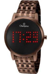 Relógio Champion Feminino Digital - Feminino-Marrom