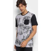 Camiseta Mcd Especial Toile Bizarre Masculina - Masculino-Cinza 4eb366d6144