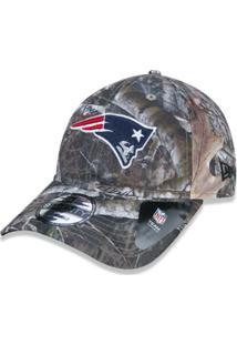 Boné 920 New England Patriots Nfl Aba Curva Strapback New Era - Masculino 8cad65b259492