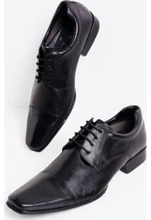 Sapato Masculino Em Couro