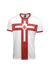 Camisa Kappa Vasco Cross Templária Masculina