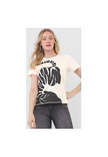 Camiseta Forum Zebra Off-White