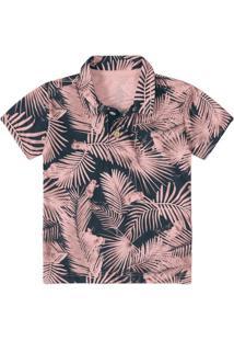 a13edba8fc Camisa Polo Bebê Tigor T. Tigre Estampada Masculina - Masculino