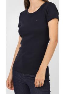 Camiseta Tommy Hilfiger Lisa Azul-Marinho - Kanui