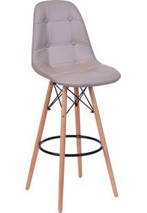 Banqueta Eames Botonê- Fendi- 106X56X56Cm- Or Deor Design