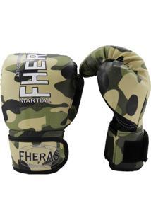Luva Boxe Muay Thai Top Fheras - Unissex
