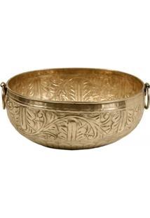 Vaso Decorativo De Metal Alpaca Sidon Grande - Unissex
