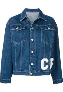 Chiara Ferragni Jaqueta Jeans Com Patches - Azul