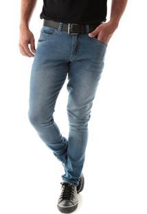 Calça 2248 Jeans Skinny Traymon Azul