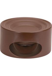 Rechaud 17Cm Em Cerâmica Chocolate Ceraflame