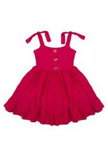 Vestido De Viscose Douvelin Pink