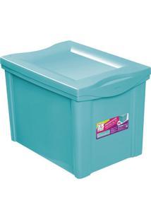 Caixa Organizadora- Verde Água- 30,7X30,5X42,5Cmordene