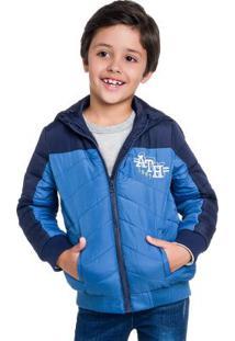Jaqueta Infantil Menino Azul
