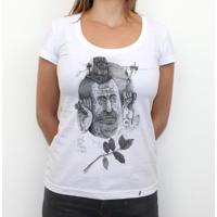 5c5dd3727 Aberto Para Conhecer O Novo - Camiseta Clássica Feminina