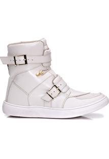 Tênis Sneaker Masculino Rockfit Ramones Marfim