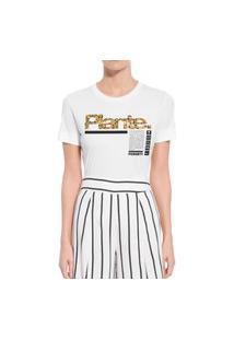 Camiseta Forseti Confort Plante Branca