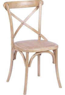 Cadeira Cross- Madeira- 89X55X49Cm- Or Designor Design